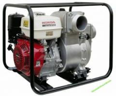 Насосы грязевые. Мотопомпы для грязной воды HONDA WT40 официальный дилер HONDA.