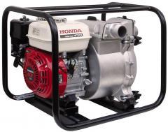 Насосы для загрязненных жидкостей. Мотопомпа для грязной воды HONDA WT20 XK DE официальный дилер HONDA.