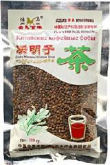 Китайские кофейные бобы - очищающий и защищающий печень чай.100гр.