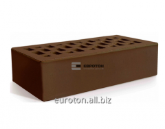 Front brick brown