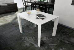 Table from an artificial stone minimalism white