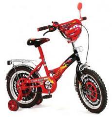 Велосипед детский 2-колесный - ТАЧКИ