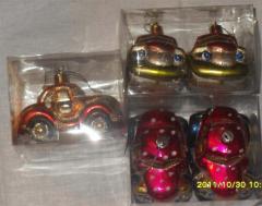Игрушки и украшения елочные