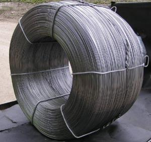 Low-carbonaceous steel wire of general purpose for