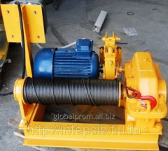 Winch electric assembly and traction LM-0,5