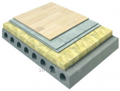 Heat and sound insulating mat of TechnoNIKOL