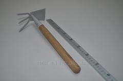 Мотыжка комбинированая с деревяной ручкой 46208