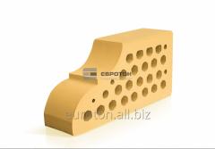 Кирпич фасонный желтый ВФ-10
