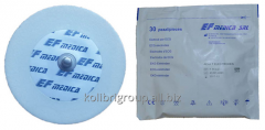 Electrode disposable from adhesive foam of 55 mm -