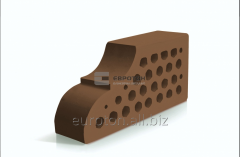 Кирпич фасонный ВФ-10 коричневый
