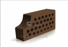 Кирпич фасонный ВФ-14 коричневый