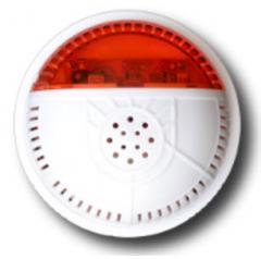 Оповещатель звуковой беспроводной (сирена) для охранной сигнализации «ИНТЕГРАЛ-С-РК»