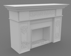 Royal-Stone fireplace model