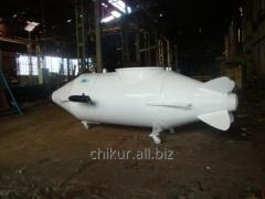The diving submarine (mini-submarine) Chikur-1 for