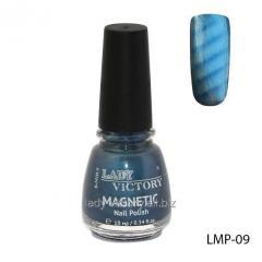 Лак для ногтей «Magnetic» 10мл. LMP Голубой