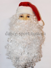 Wig for Father Frost and a cap 5636