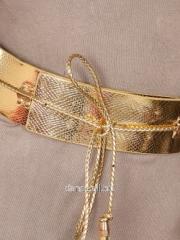 Belt gold 5653