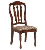 Chair Ellion (damast / chestnut)