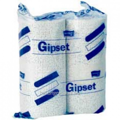 Plaster bandage of GIPSET quick-drying (3 min.) 10