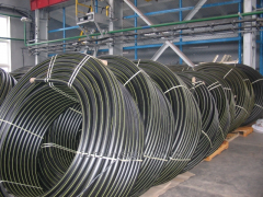 Pipe polyethylene for gas supply of PE 100