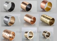 Sliding plug metalloftoroplastovy