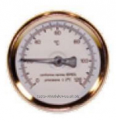 Analog thermometer, connector 1/2