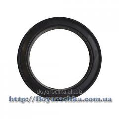 Corner under PVC on a polypropylene cover of a