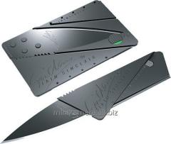 Knife credit card, folding, pocket CardSharp