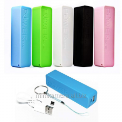 Tiny portable accumulator, Power Bank 2600 mAh