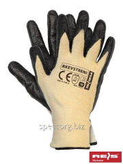 Working gloves with kevlary KEV STRENI