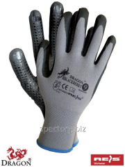 Working gloves with BLACKBERRY nitrile
