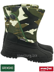 Boots winter BSNOW-CAMO PVC