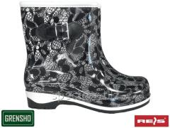Boots rubber BTDKFIORE BW PVC