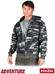 Jacket the warmed camouflage CORTEX