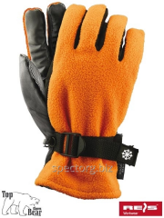 Ski gloves fleece SNOWING