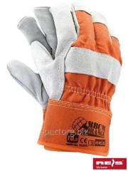 Spilkovy gloves the strengthened Orange