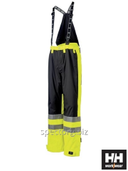 Semi-overalls the worker fire-resistant with