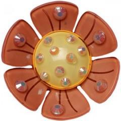 Подхват на магнитах для штор  Ромашка модель  P0003