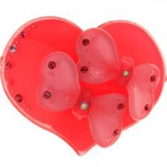 Подхват на магнитах для штор  Любовь 2 модель  N0009