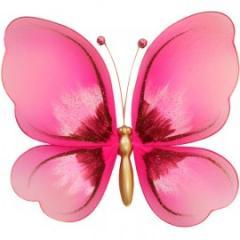 Украшение для штор Бабочка Мини -100*100 модель