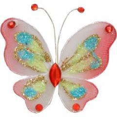 Украшение для штор Бабочка Микро -65*65 модель  A0010