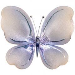Украшение для штор Бабочка Малая -120*140 Гальваника модель  AG0005