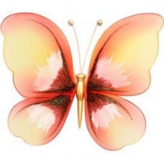 Украшение для штор Бабочка Малая -120*140 С Магнитом модель  A00030