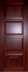Сосновые двери в комнату (№9)
