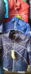 Детская куртка ветровка на мальчика Kiko. 36-44 р.