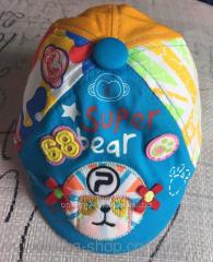 Детская кепка Super bear 1-3 года, код товара