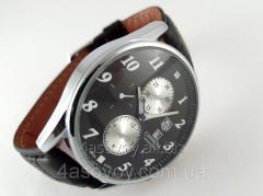 Мужские часы в стиле Carrera цвет корпуса серебро,