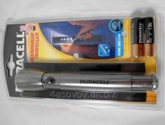 Криптоновый фонарь Duracell Alluminium traveller