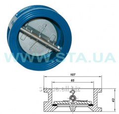 Backpressure interflange valves 2 alignment. 50 mm