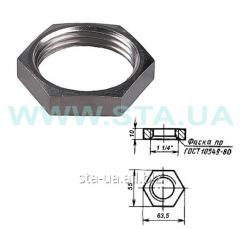 Lock-nut of 32 mm of GOST 8968-75 steel